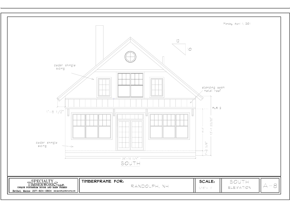 Sample Plan – Specialty Timberworks